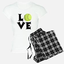 Love - Softball Pajamas