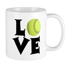 Love - Softball Mugs