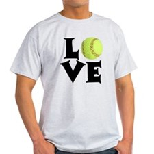Love - Softball T-Shirt