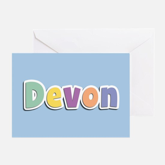 Devon Spring14 Greeting Card