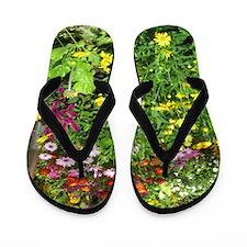Wild Flower Flip Flops