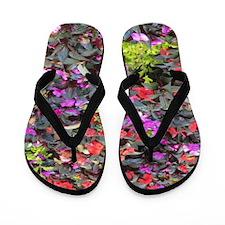 Love Flowers Flip Flops