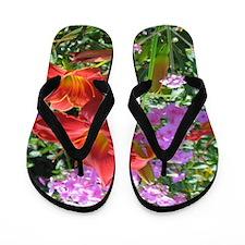 Garden Girl Flip Flops