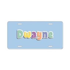 Dwayne Spring14 Aluminum License Plate