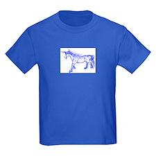 Unicorn Bright Blue Zephyr T