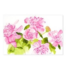Hillary's Peonies Postcards (Package of 8)