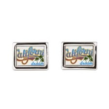 CALIFORNIA DREAMIN Rectangular Cufflinks