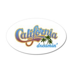 CALIFORNIA DREAMIN Wall Decal