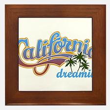 CALIFORNIA DREAMIN Framed Tile
