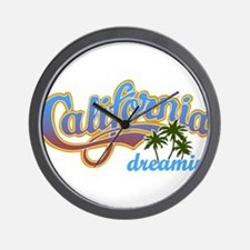 CALIFORNIA DREAMIN Wall Clock