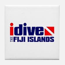 idive (Fiji) Tile Coaster