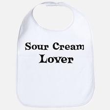 Sour Cream lover Bib
