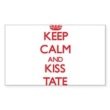 Keep Calm and Kiss Tate Decal