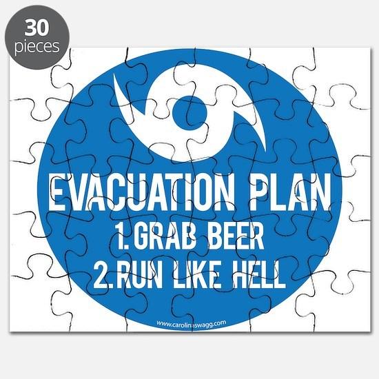 Hurricane Evacuation Plan Puzzle