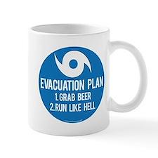 Hurricane Evacuation Plan Mugs