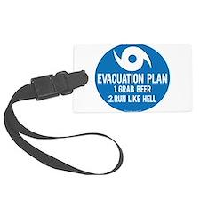 Hurricane Evacuation Plan Luggage Tag