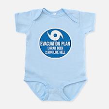 Hurricane Evacuation Plan Body Suit