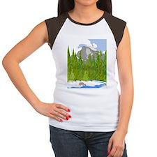 Yosemite Women's Cap Sleeve T-Shirt