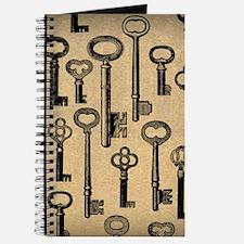 Old Keys Pattern Journal