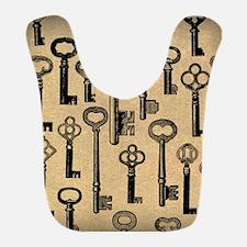 Old Keys Pattern Bib