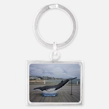 Provincetown, MA  Greeting Landscape Keychain