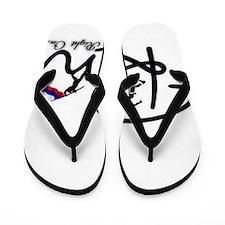 RightOn Russia Flip Flops