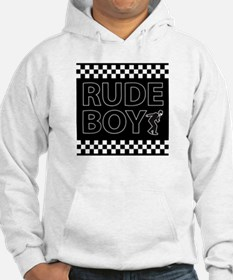 Rude Boy with guy Hoodie