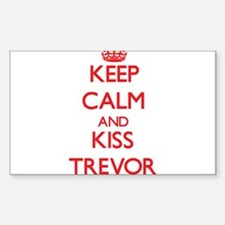 Keep Calm and Kiss Trevor Decal