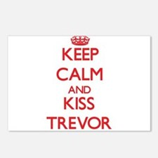 Keep Calm and Kiss Trevor Postcards (Package of 8)