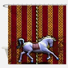 Carousel Horse Shower Curtain