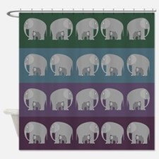 Plus One Shower Curtain
