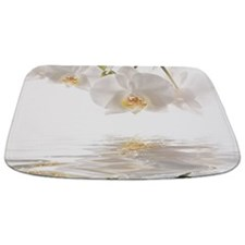 Orchids Reflection Bathmat