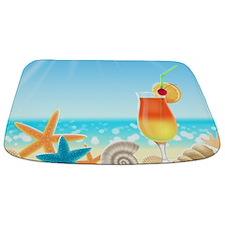 Beach Vacation Bathmat