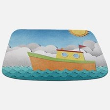 Paper Boat Bathmat