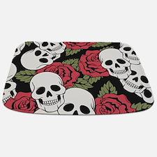 Skulls And Roses Bathmat
