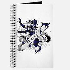Fleming Tartan Lion Journal