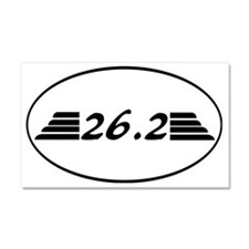 26.2 marathon with wings. Car Magnet 20 x 12