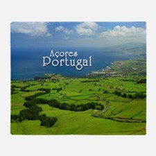 Azores - Portugal Throw Blanket
