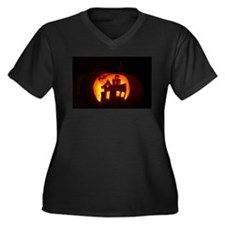 Pumpkin Glow Plus Size T-Shirt