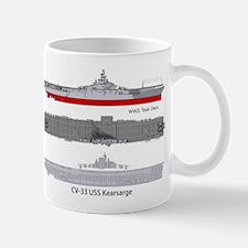 Uss Kearsarge Cv-33 Cva-33 Mug Mugs