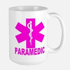 Hot Pink Paramedic Large Mug Mugs