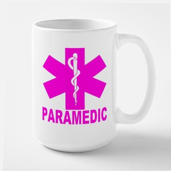 Hot Pink Paramedic Large Mug Mugs
