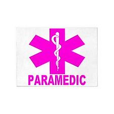 Hot Pink Paramedic 5'x7'Area Rug