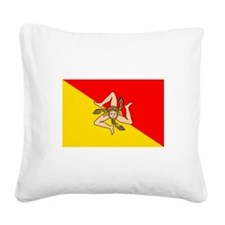 Sicily.jpg Square Canvas Pillow