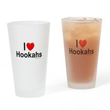 Hookahs Drinking Glass