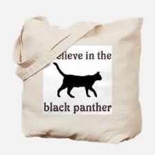 Mystery Black Panther Tote Bag