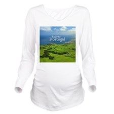 Azores - Portugal Long Sleeve Maternity T-Shirt