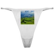 Azores - Portugal Classic Thong