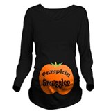 Pumpkin smuggler Dark Long Sleeve Maternity T-Shirt