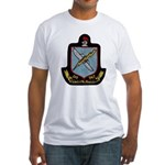 USS SAMUEL N. MOORE Fitted T-Shirt